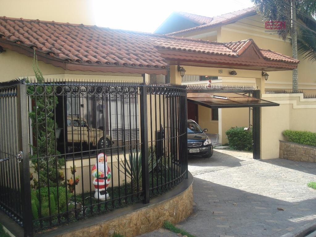 Sobrado residencial à venda, Horto Florestal, São Paulo - SO0518.