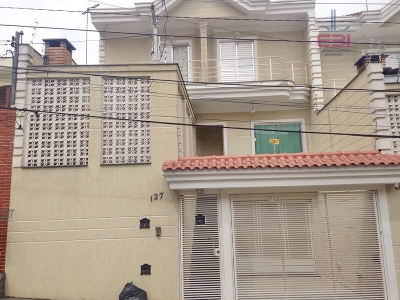 Sobrado residencial à venda, Parada Inglesa, São Paulo - SO0552.