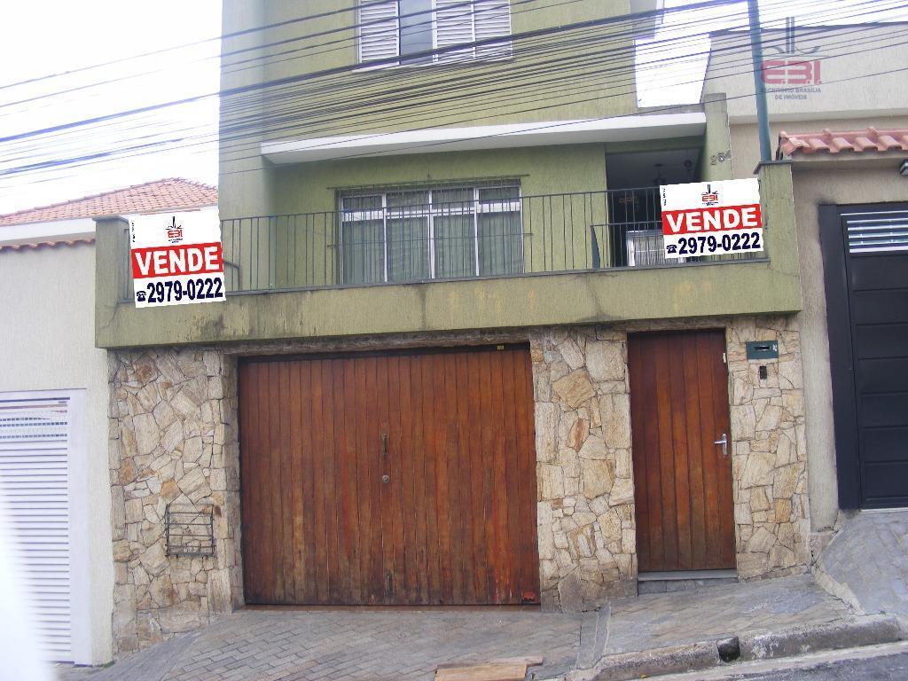 Sobrado residencial à venda, Mandaqui, São Paulo - SO0627.