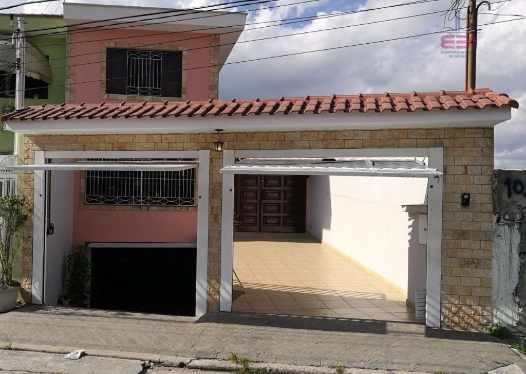 Sobrado residencial à venda, Parada Inglesa, São Paulo - SO0008.