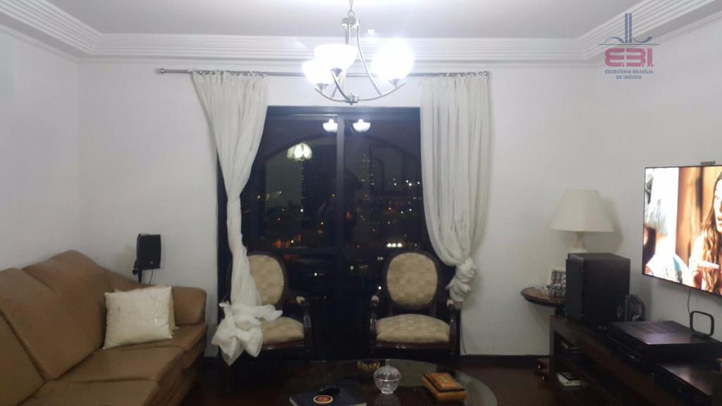 apartamento com 140m², em excelente localização a 5 minutos da braz leme.com 3 dormitórios sendo 1...