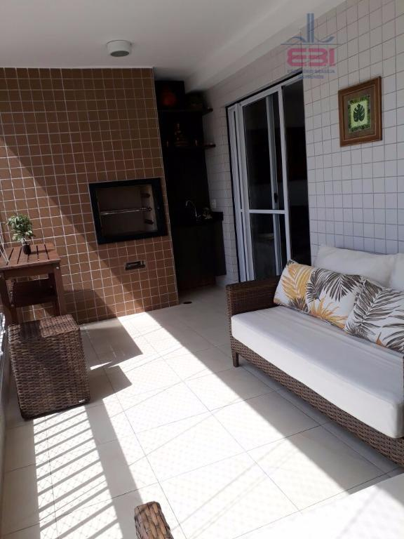 lindo apartamento com 92m², pronto para morar!com 3 dormitórios sendo 1 suíte, repleto de armários embutidos...