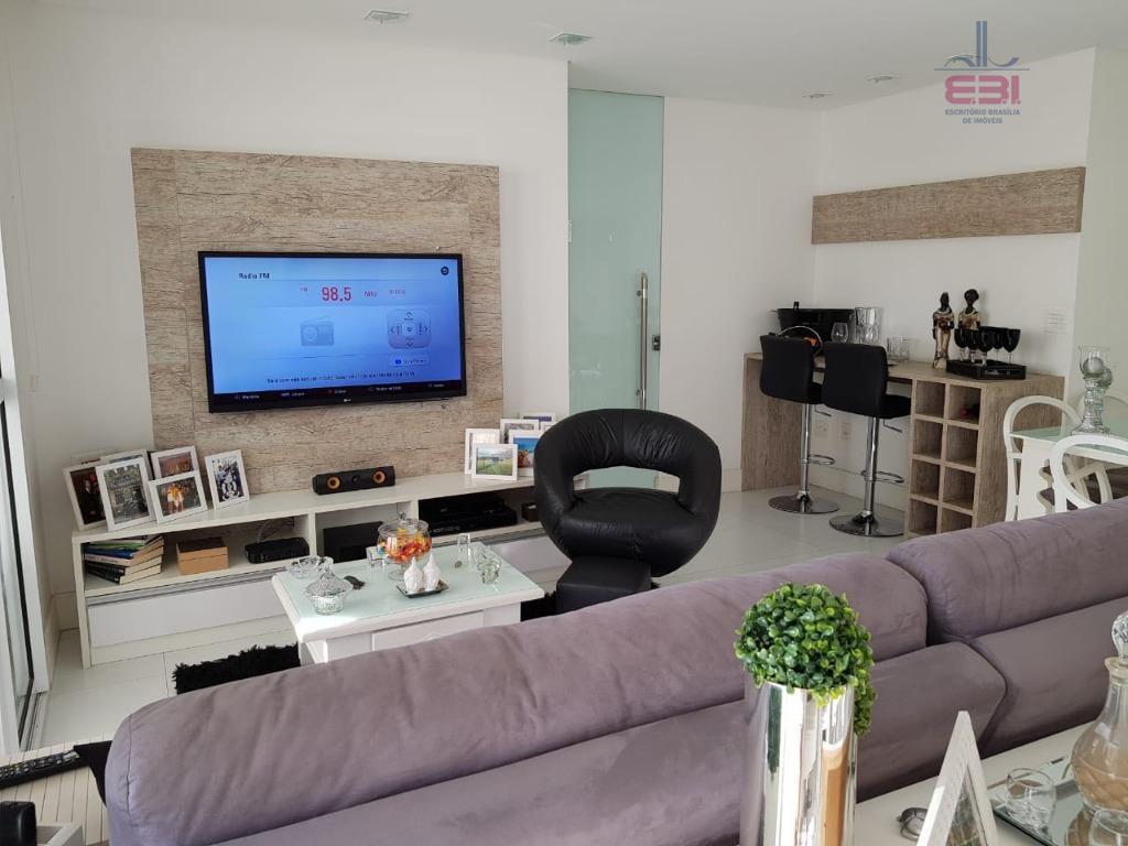 excelente apartamento com 103m²!muito bem localizado, a 5 minutos da avenida braz leme.andar alto, com 3...