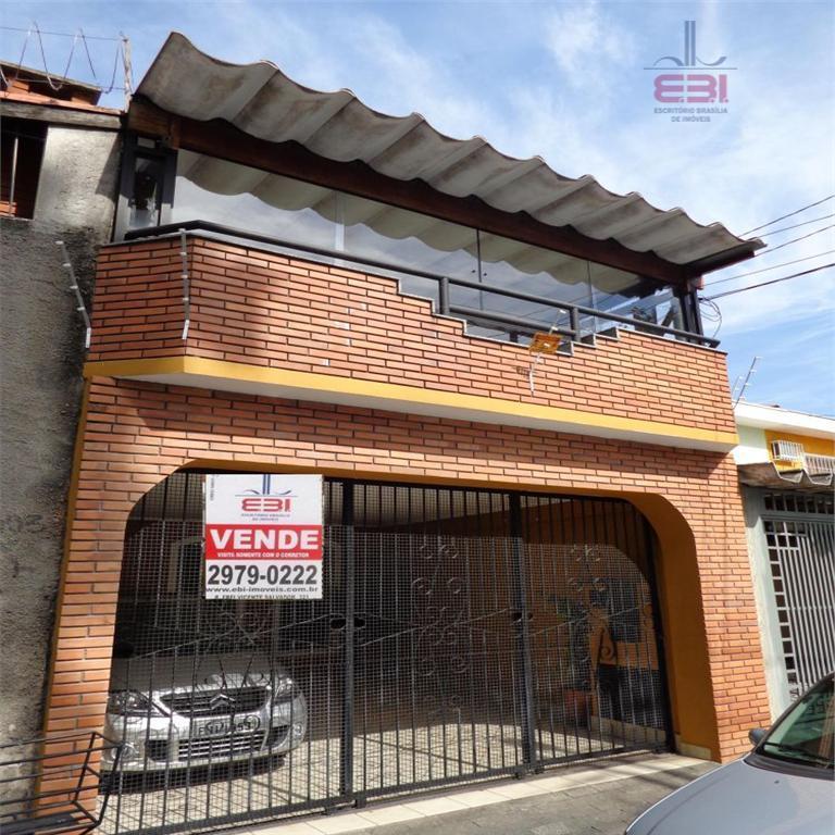 Sobrado  residencial à venda, Vila Isolina Mazzei, São Paulo.