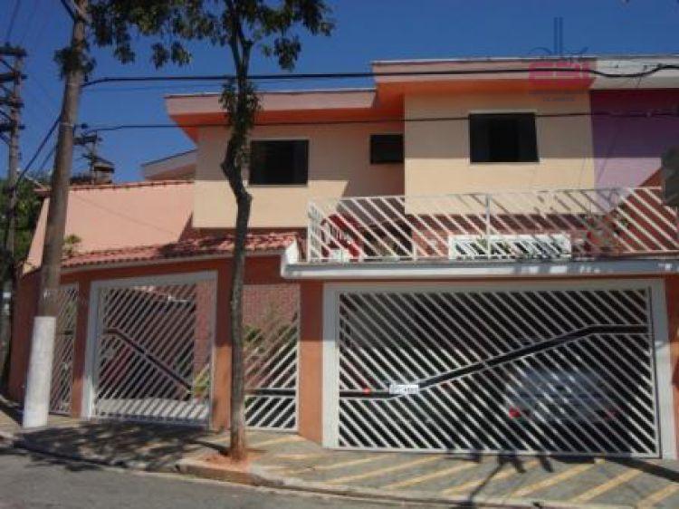 Sobrado residencial à venda, Mandaqui, São Paulo - SO0047.