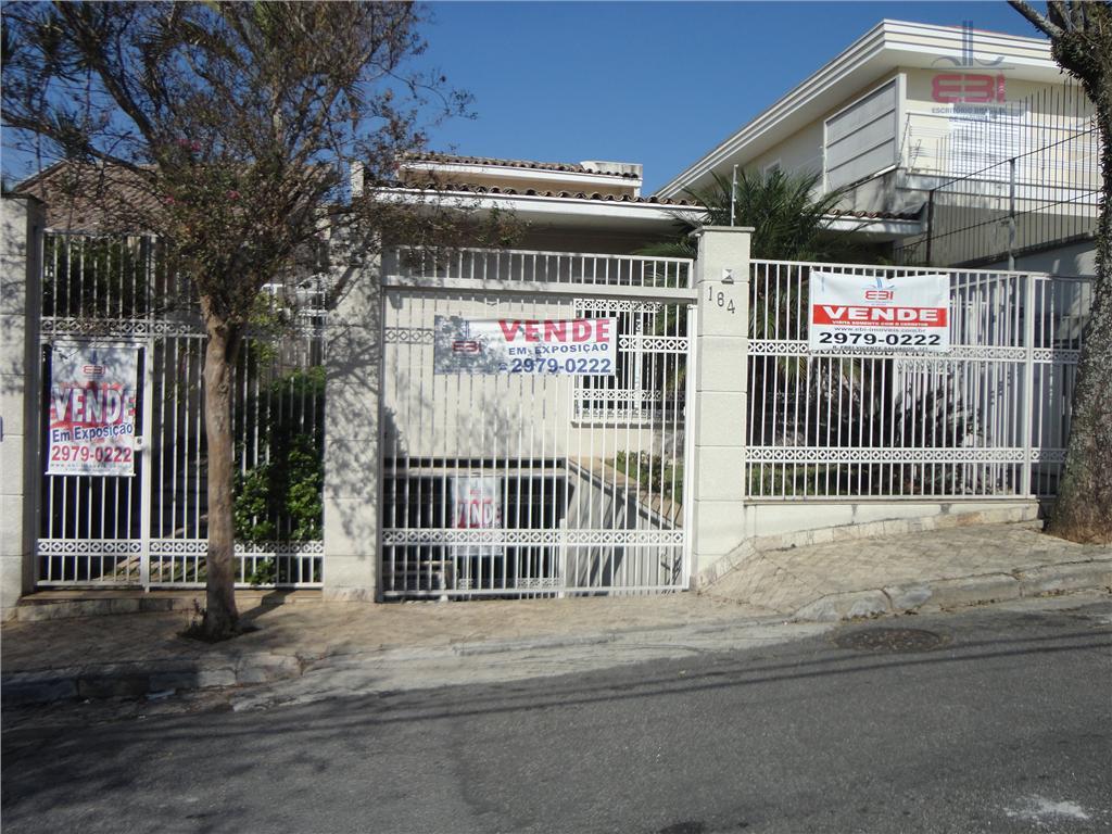 Sobrado residencial à venda, Jardim Paraíso, São Paulo - SO0124.
