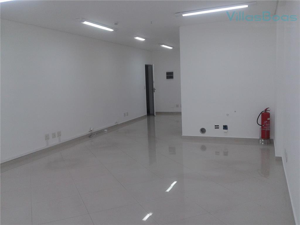 excelente sala comercial para locação no jardim aquarius. ótima disposição, andar alto, 1 wc, piso porcelanato,...