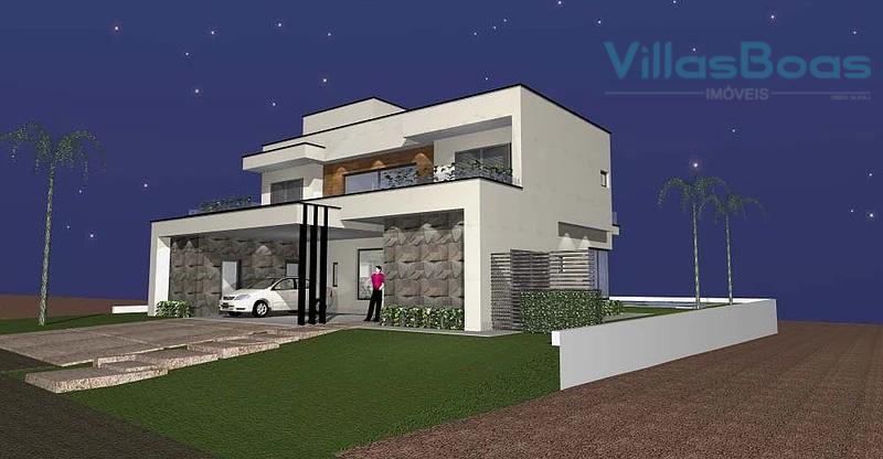 : sobrado de alto padrão com 5 (cinco) dormitórios em terreno plano de fácil mobilidade: pavimento...