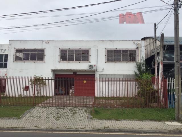 Barracão  comercial para locação, Tarumã, Curitiba.