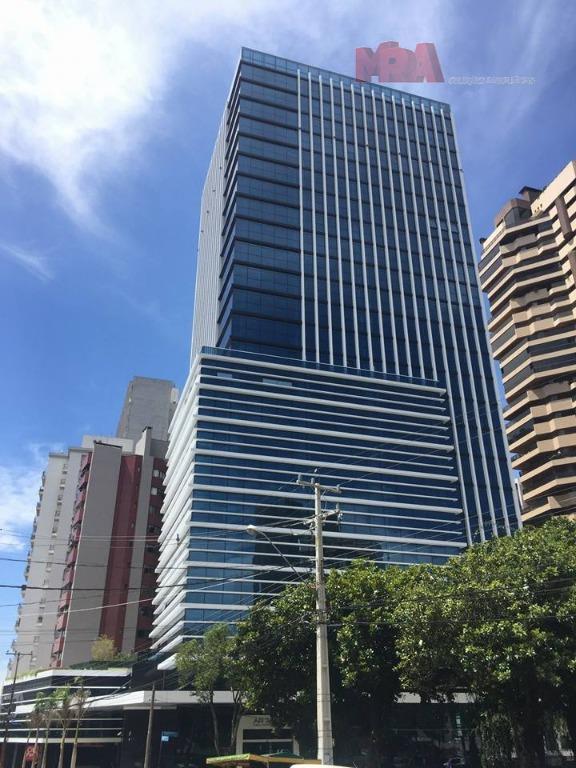 Sala comercial para locação, Juvevê, Curitiba.