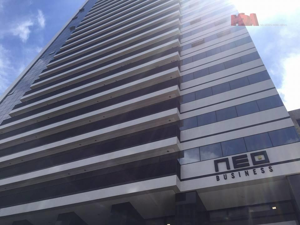 Sala comercial para locação, Centro Cívico, Curitiba.