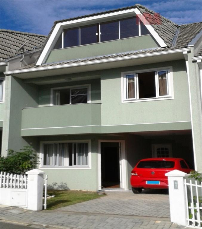 Sobrado residencial à venda, Santa Cândida, Curitiba.