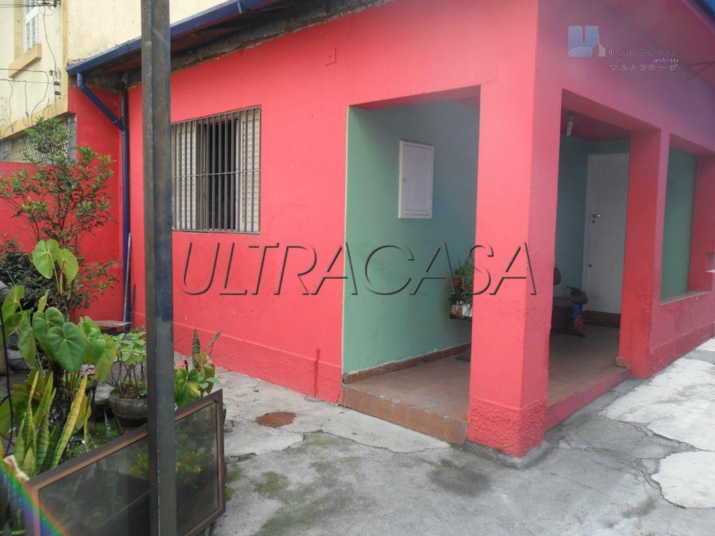 duas casas com entradas separadas no mesmo terreno. na frente 1 dormitório, sala.cozinha e banheiro. no...
