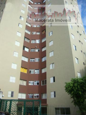 Apartamento residencial à venda, Jardim Cupecê, São Paulo.