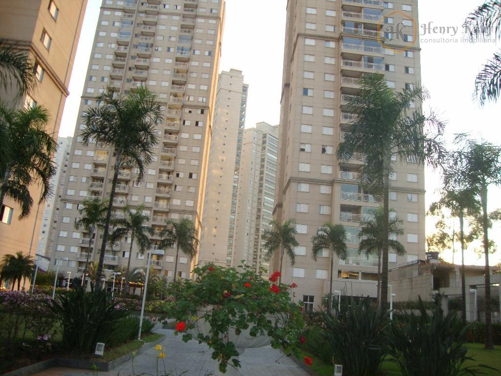 Apartamento com 3 dts.(1s) 1 vg.(proprietário estuda propostas)em frente ao Pq.do Piqueri , Tatuapé - São Paulo.