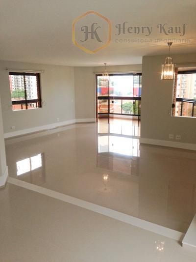 Apartamento residencial à venda, Campo Belo, São Paulo - AP1044.