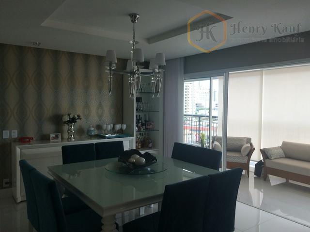Apartamento com 172m2 - 3 Suítes - Depósito e 3 vagas (Porteira Fechada), Tatuapé, São Paulo.