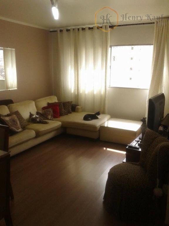 Apartamento  com 65m2 de área privativa, 2 dormitórios (1 suíte) e 1 vaga, Vila Celeste, São Paulo.