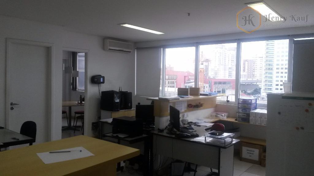 Conjunto comercial para locação, Vila Clementino, São Paulo.