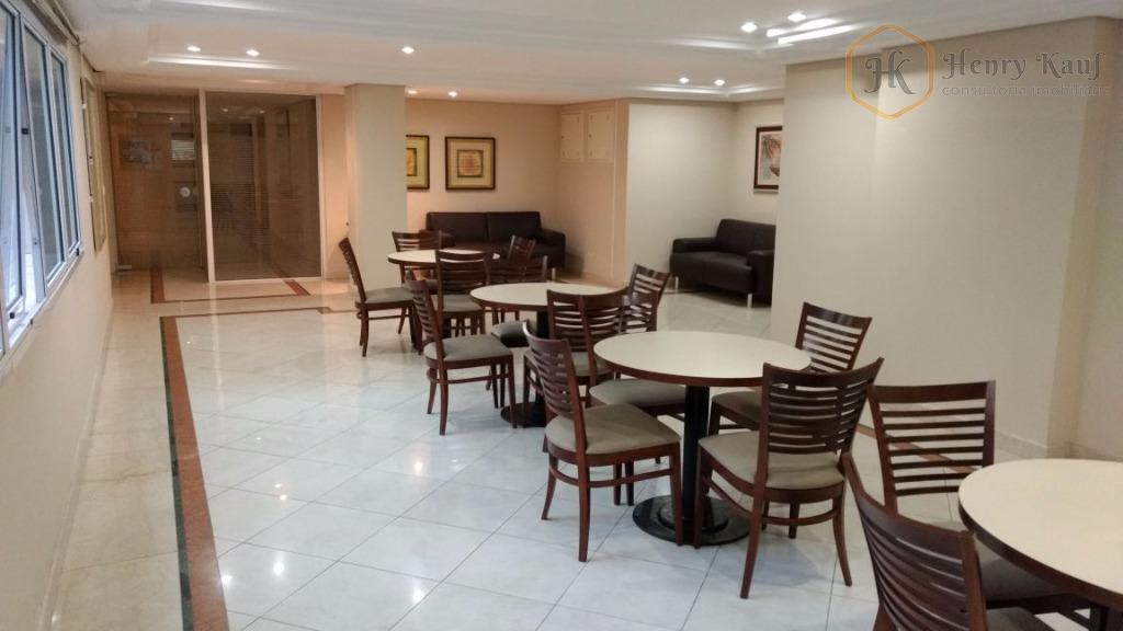 maravlhoso apartamento com 47m² de área privativa, distribuído em sala para 2 ambientes, cozinha americana, quarto...