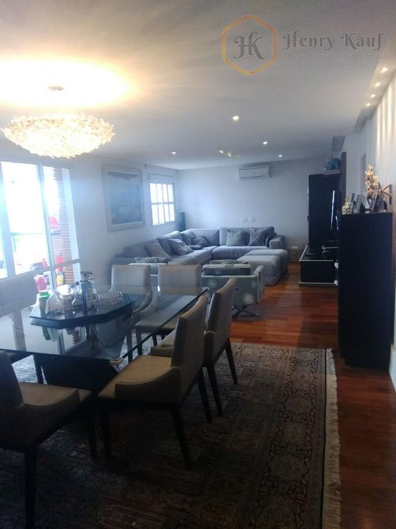 apartamento alto padrão com área privativa de 178m² semi-mobiliado e equipado ! apartamento novo. somente dois...