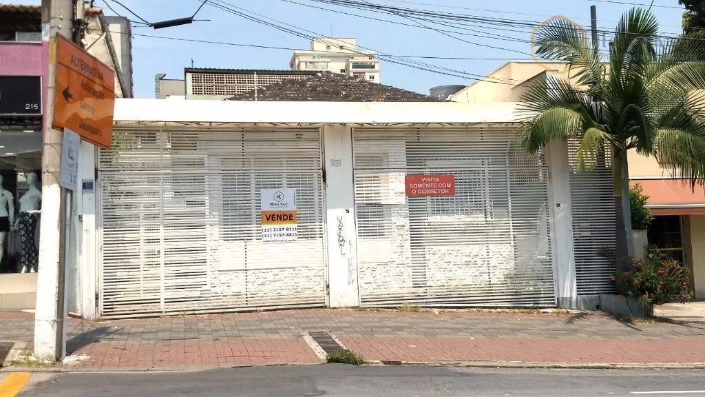 Casa comercial à venda, Vila Clementino, São Paulo.