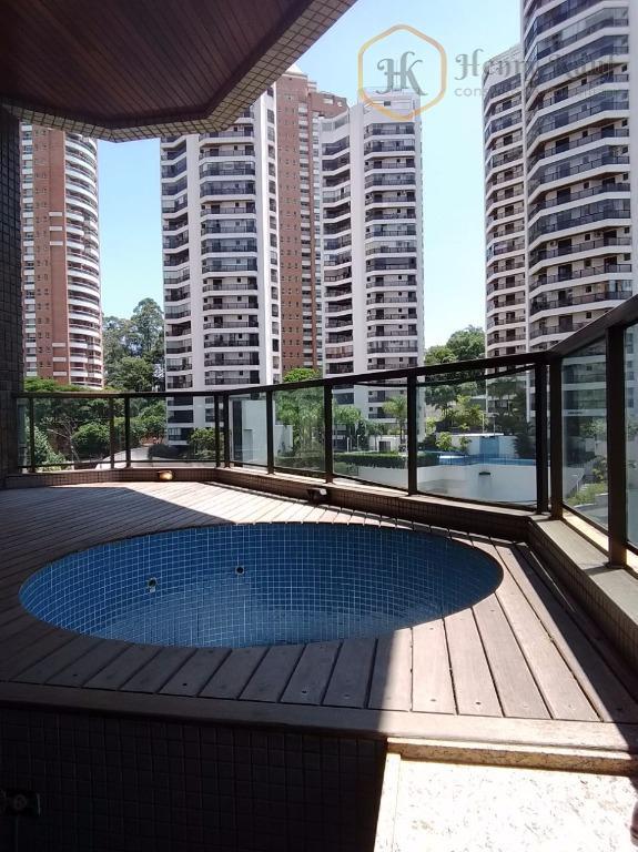 Apartamento residencial à venda, Jardim Fonte do Morumbi, São Paulo.