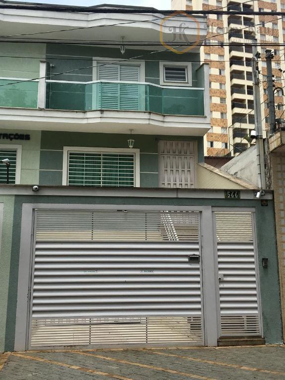 Ótimo Sobrado com 3 Suítes, 4 Vagas e Aquecimento Solar, Vila Formosa, São Paulo.