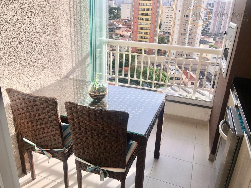 Oportunidade!!! Apartamento com 2 dts.(1s),living c/terraço com churrasqueira, 1 vg., Vila Gumercindo, São Paulo.