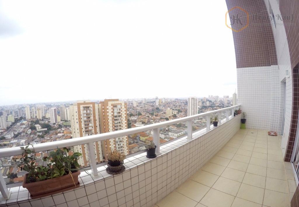 Cobertura Duplex, 4 Suítes, 4 Vagas, distante 350m do Metrô Alto do Ipiranga, Alto do Ipiranga, São Paulo.