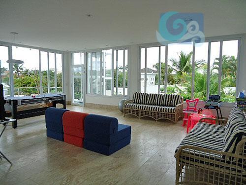 casa no condomínio jardim acapulco , praia de pernambuco - guarujá. mobiliada, com elevador, 6 suítes,...