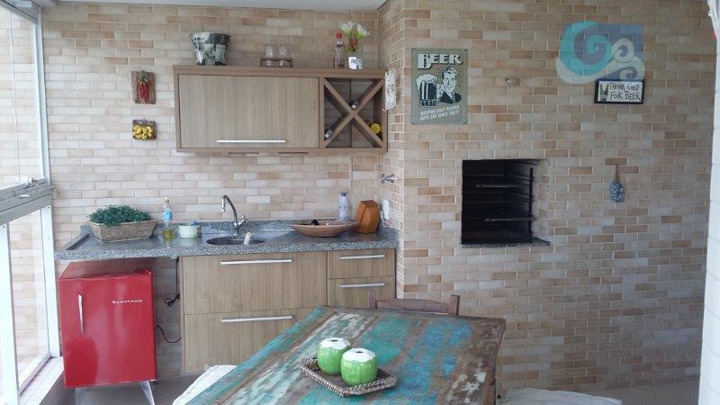 Apartamento à venda -  Praia da Enseada - Guarujá.