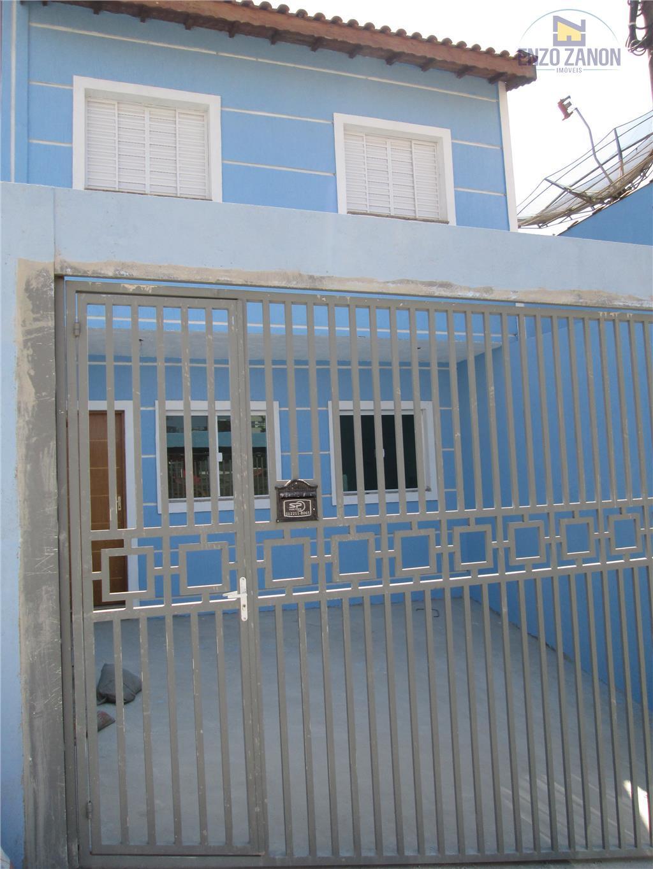 Sobrado  residencial à venda, Vila Progresso, Santo André.