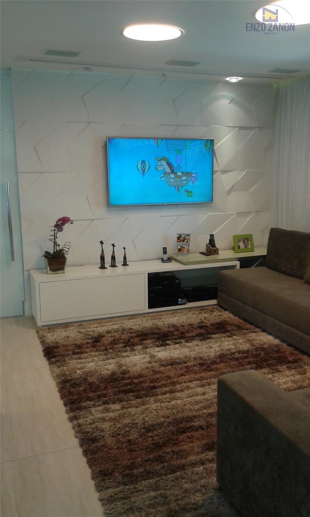Lindo Apartamento Novo Centro, São Bernardo do Campo, 158 m² privativos mobiliado decorado e 3 vagas