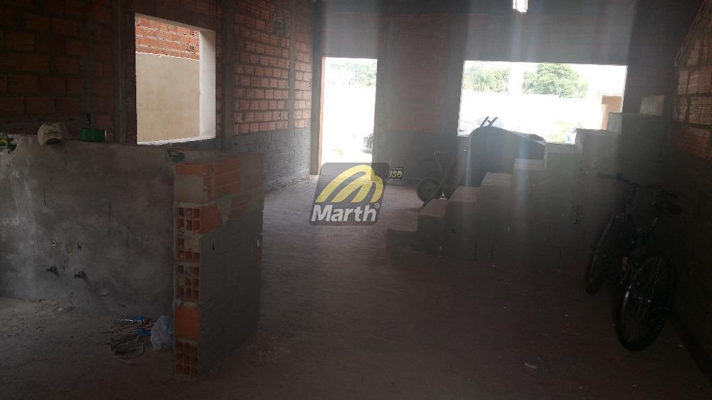 sobrado em fase final de construção no condomínio lazuli.piso térreo com sala de tv, sala de...