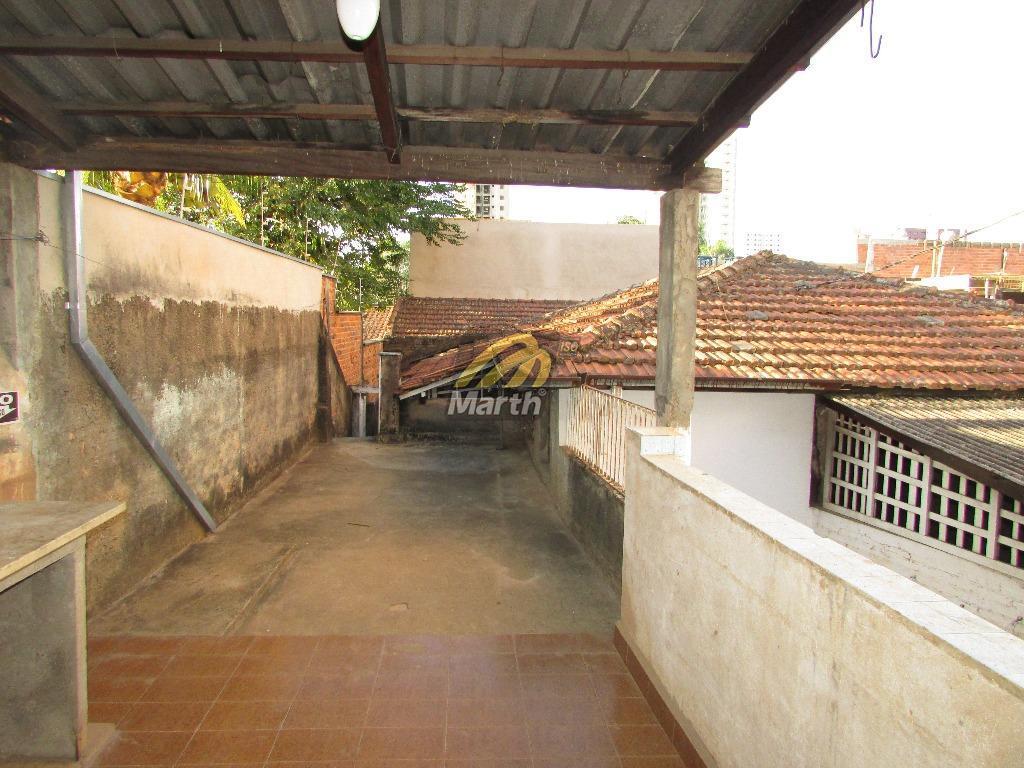 casa antiga em excelente localização, com vocação comercial, com 4 dormitórios, 2 salas, banheiro social, cozinha...
