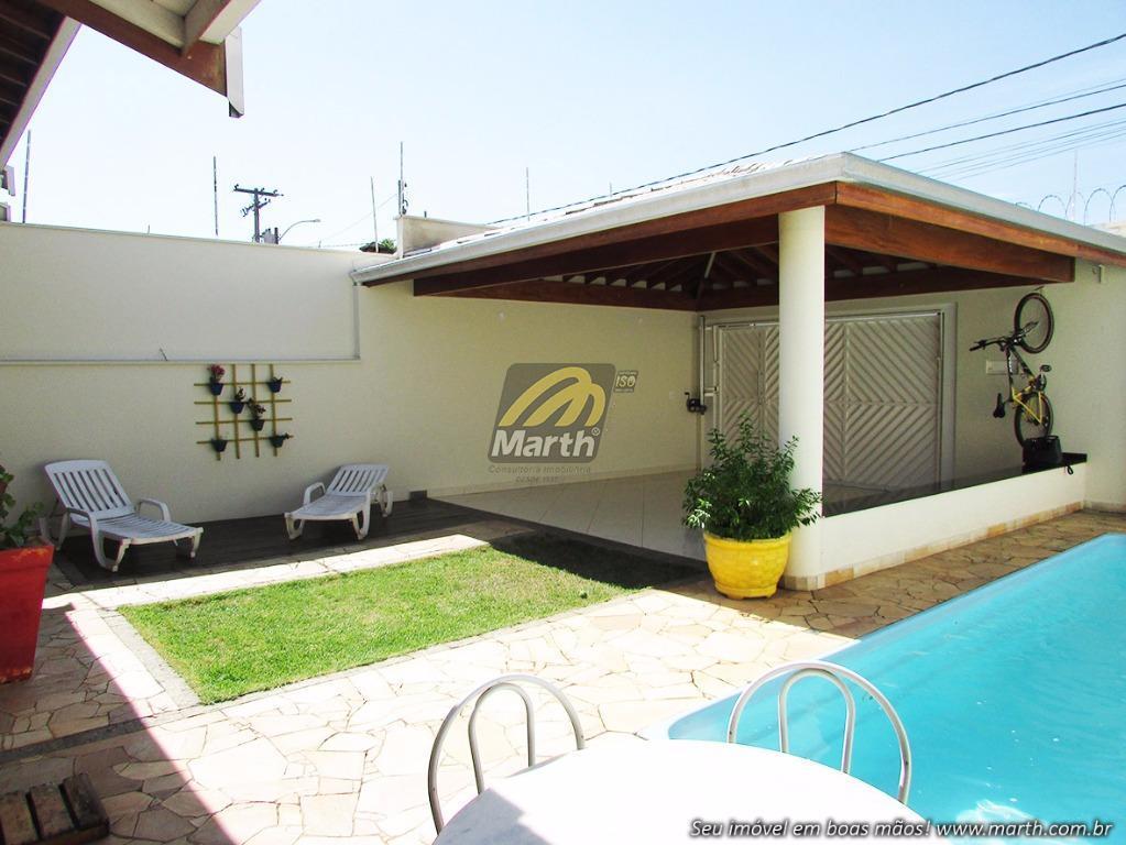 Casa residencial à venda, Parque Conceição, Piracicaba.