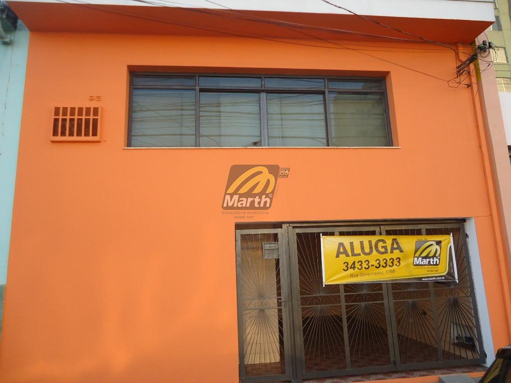 Casa comercial para locação, Vila Rezende, Piracicaba.