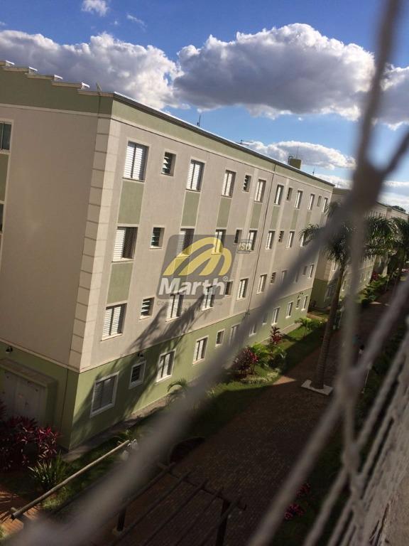 Apartamento residencial à venda, Dois Córregos, Piracicaba.