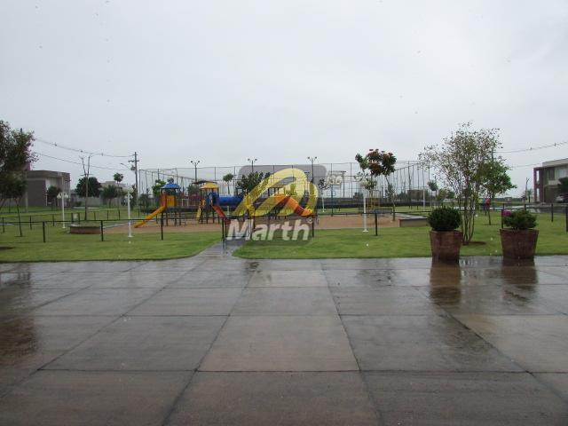 terreno em condomínio fechado a venda em piracicaba - sp; plano, sendo 245,00 m² de área...
