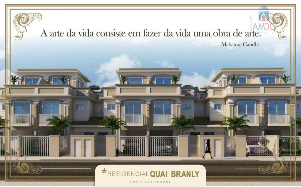 Sobrado residencial à venda, Praia dos Amores, Balneário Camboriú - SO0013.