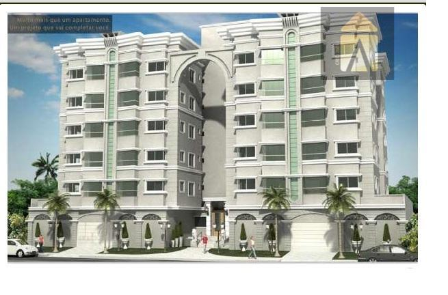 Apartamento residencial à venda, Dom Bosco, Itajaí - AP0098.