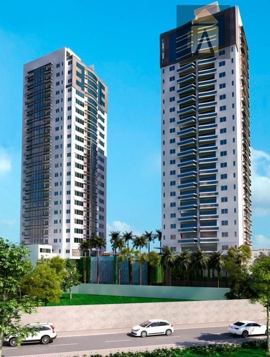 Apartamento residencial à venda, Centro, Itajaí - AP0102.
