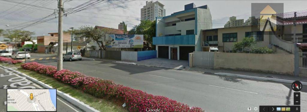 Sobrado comercial para venda e locação, Fazenda, Itajaí - SO0025.