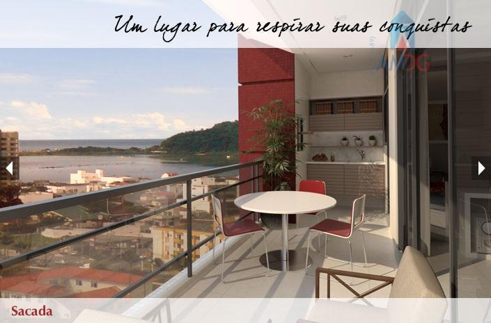 Apartamento residencial à venda, Centro, Itajaí - AP0129.