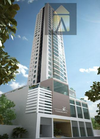 Apartamento residencial à venda, Centro, Balneário Camboriú - AP0145.