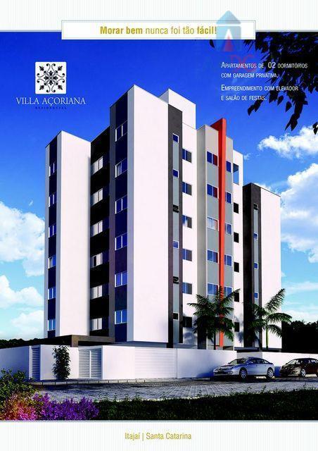 Apartamento residencial à venda, Costa Cavalcanti, Itajaí - AP0186.