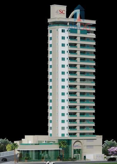 Apartamento residencial à venda, Fazenda, Itajaí - AP0386.