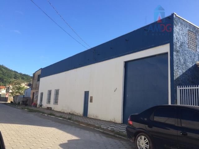 Galpão comercial para locação, Monte Alegre, Camboriú - GA0010.