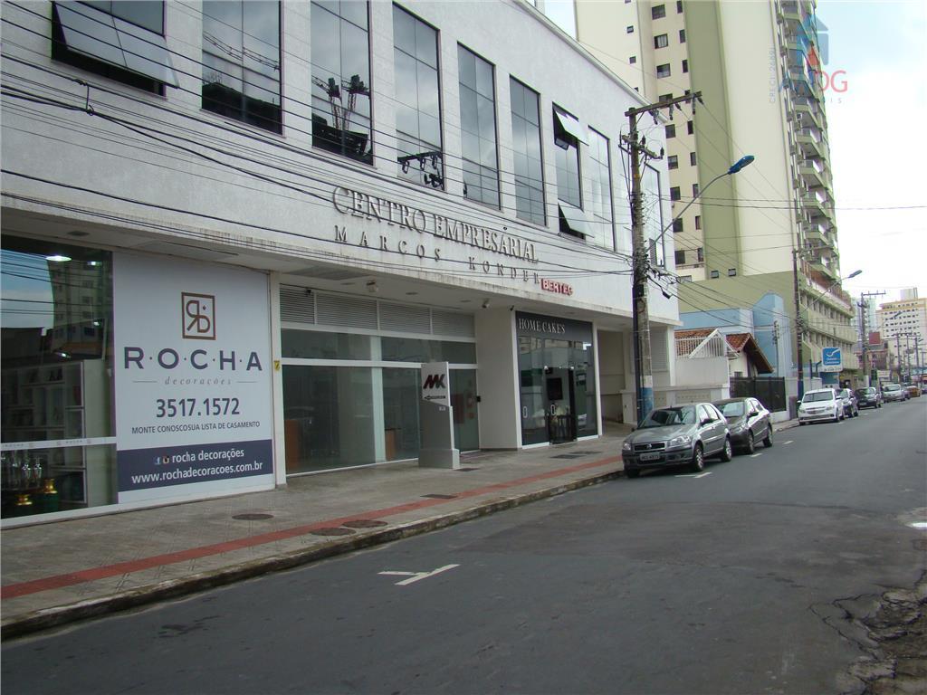 Sala comercial para locação, Centro, Itajaí - SA0055.